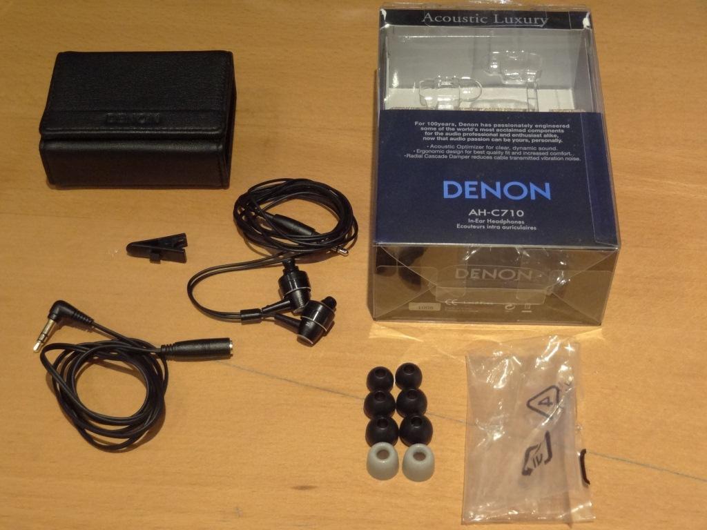 Denon AH-C710 contents