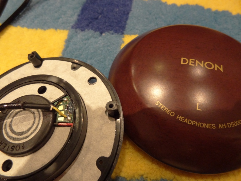 D2K Recabling - Left Driver Yellow cable