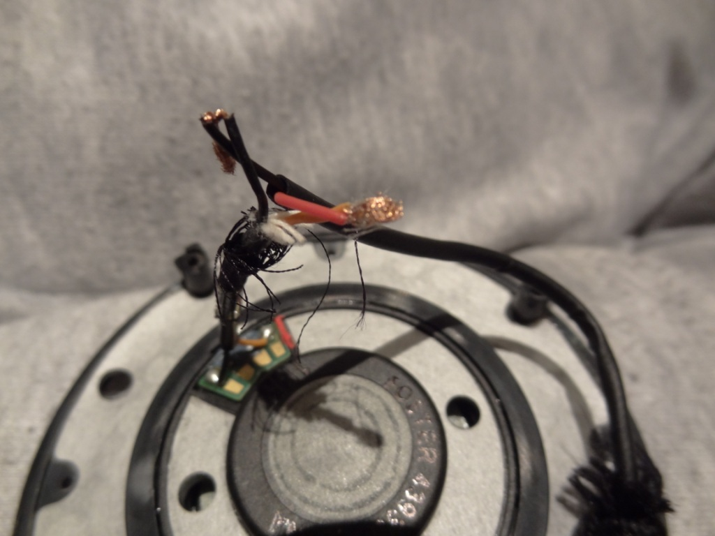 D2K Recabling - Right Driver Orange cable & Red D7K Wire
