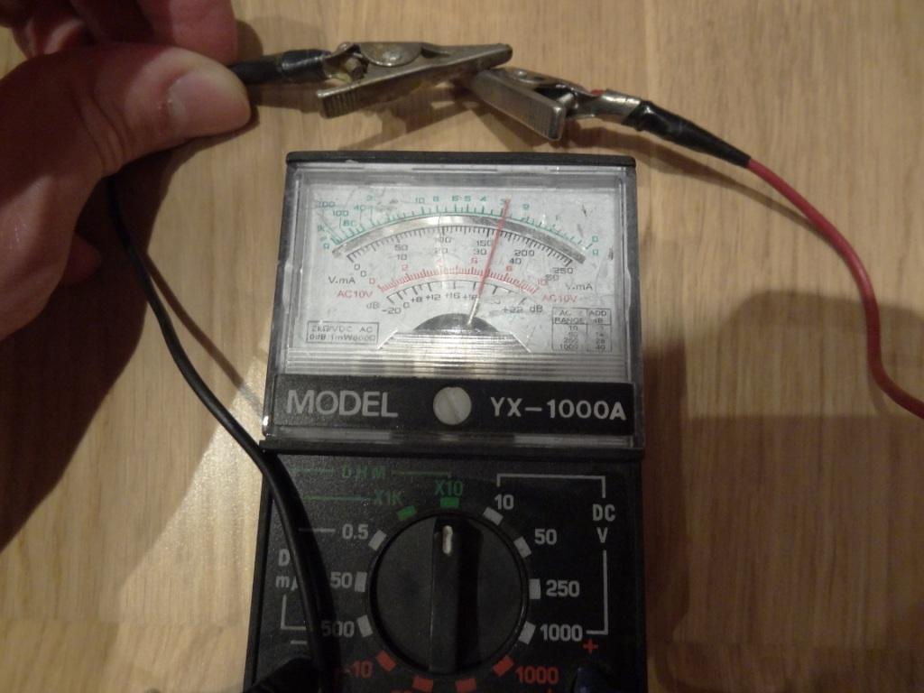 D2K Recabling - Multimeter response