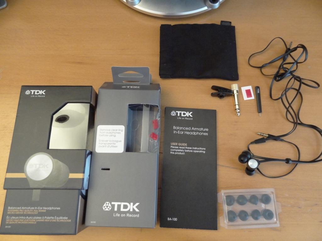 TDK BA100 - Contents