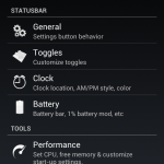 Slim ICS - Settings