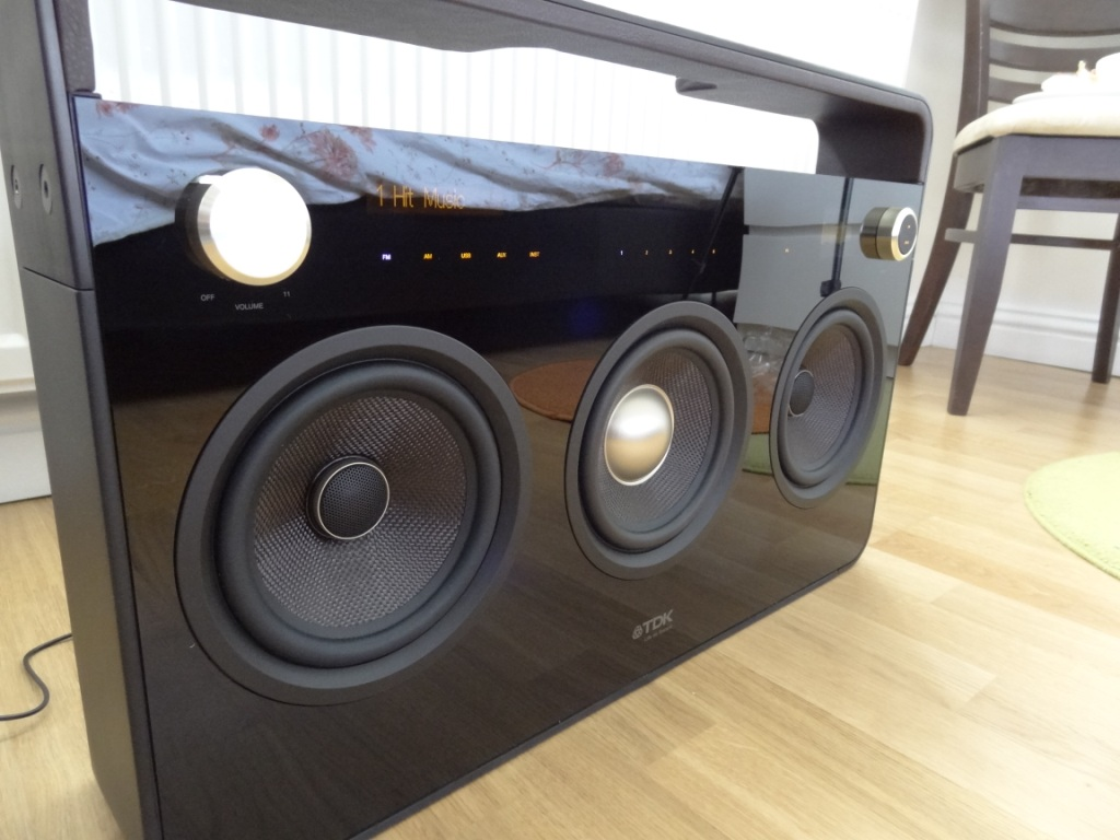 Review of the TDK 8 Speaker Boombox  Totally Dubbed