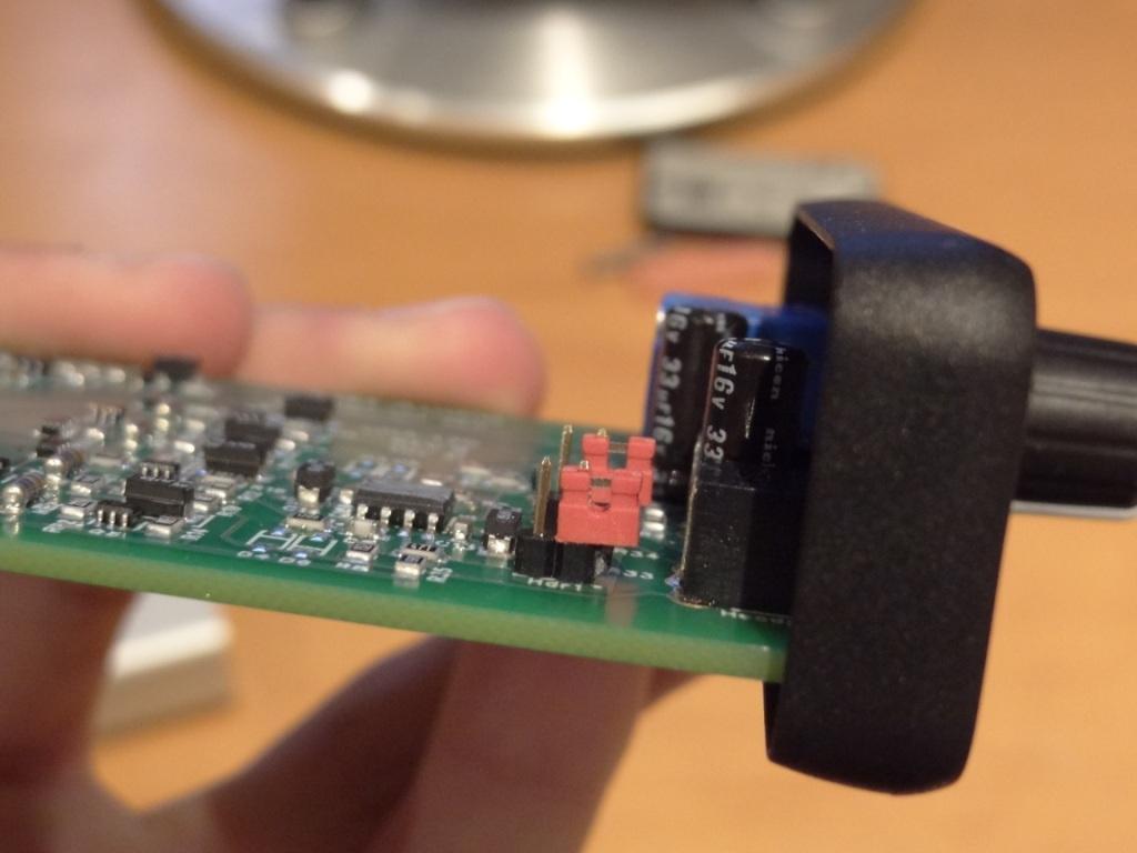 Just Audio µHA-120 - Jumper Settings on Low Gain