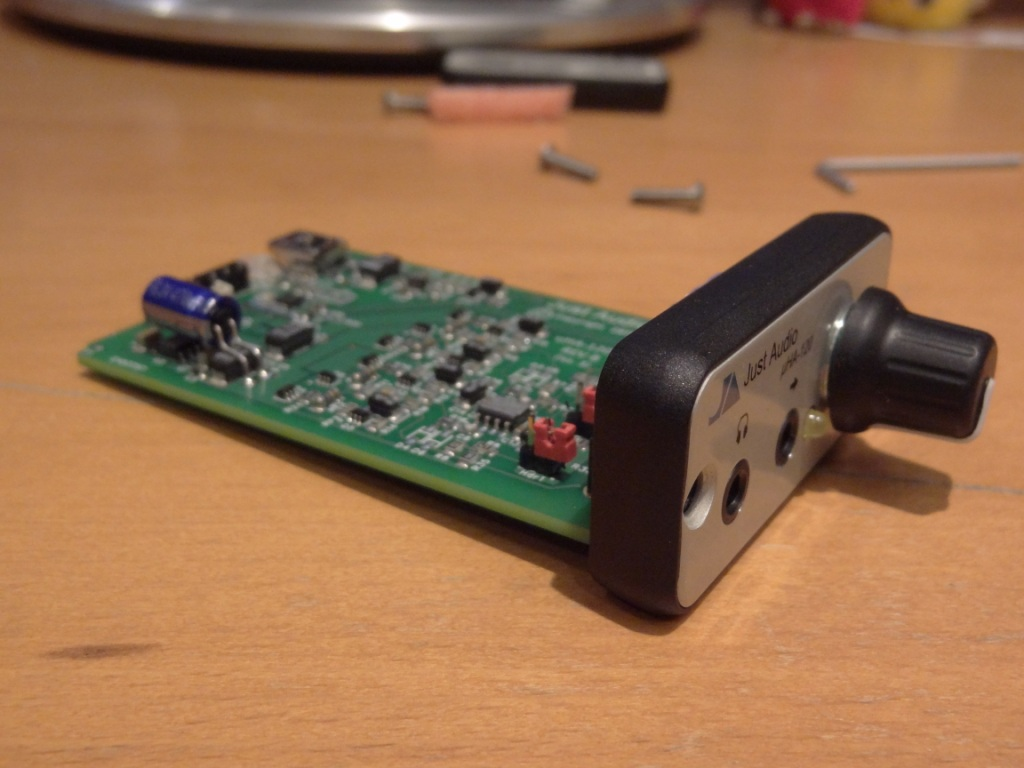 Just Audio µHA-120 - Board