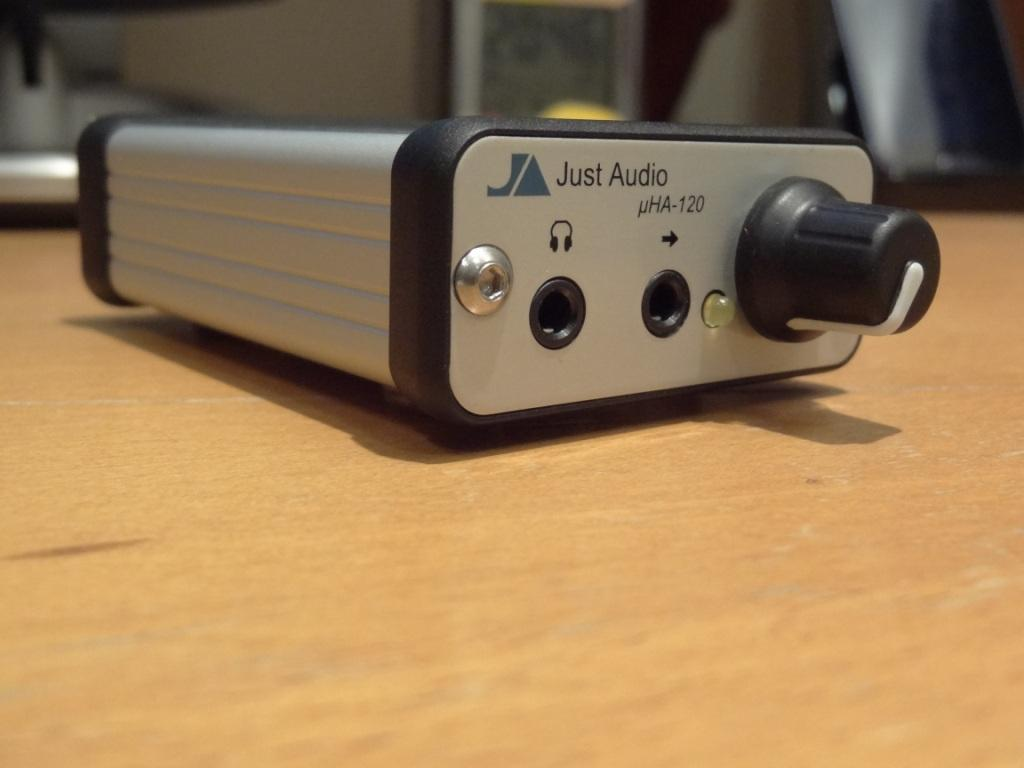 Just Audio µHA-120 - Side View