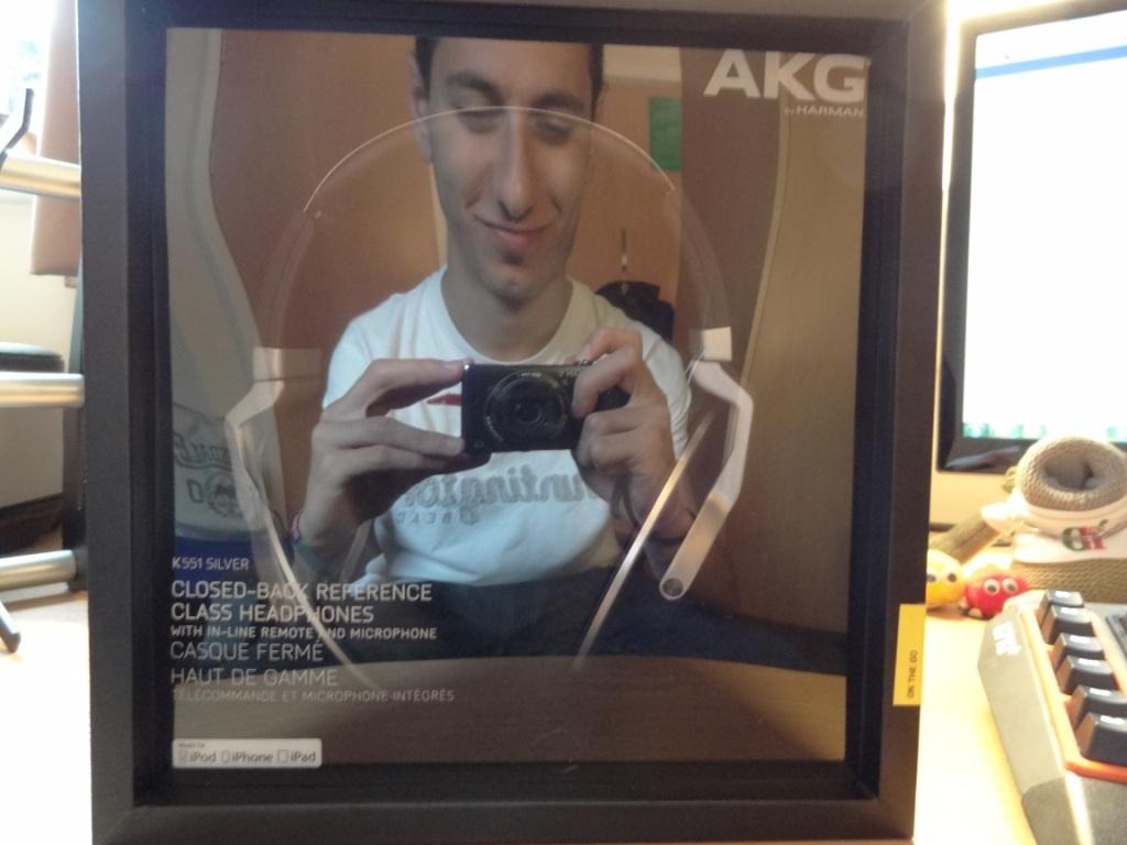 AKG K551 - Box