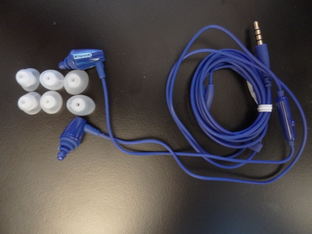 Klipsch S3M - Earphones and Tips