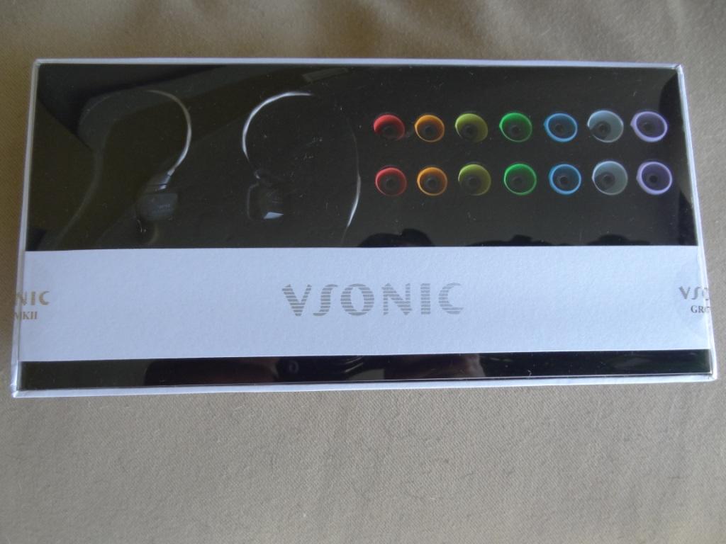 VSonic GR07 MK2 - Packaging