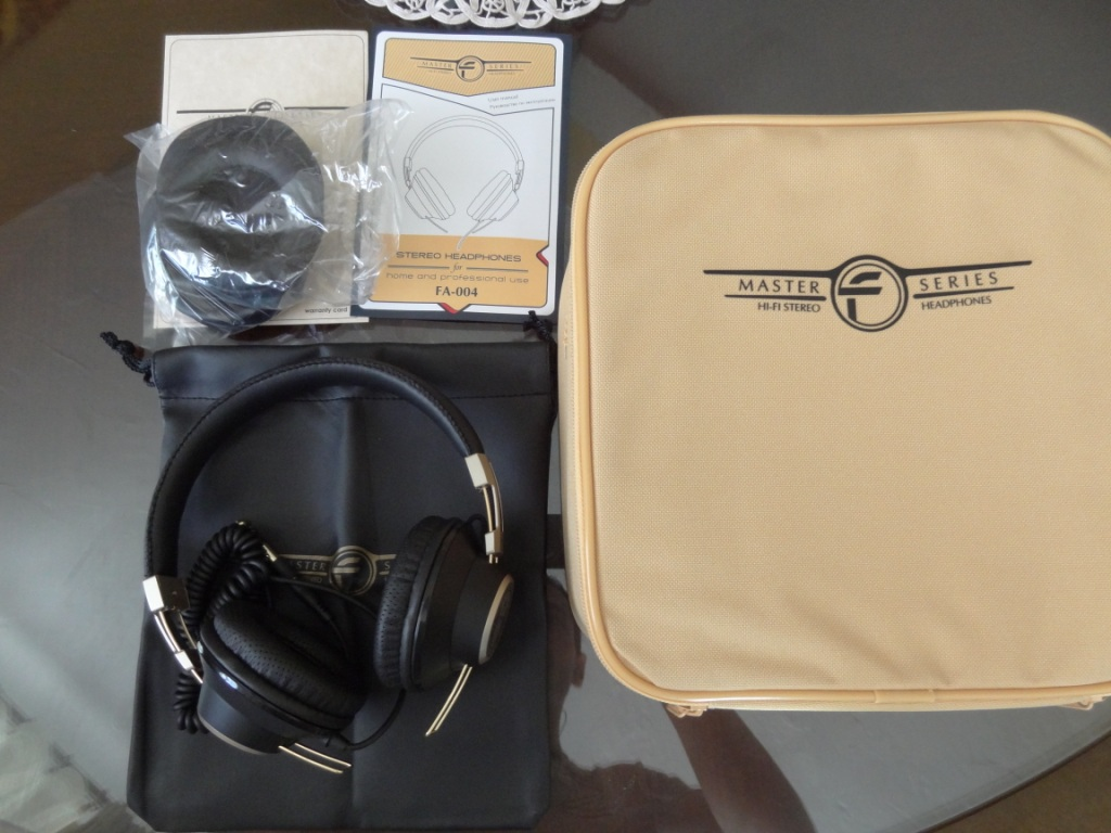 Fischer Audio FA-004 - Package contents