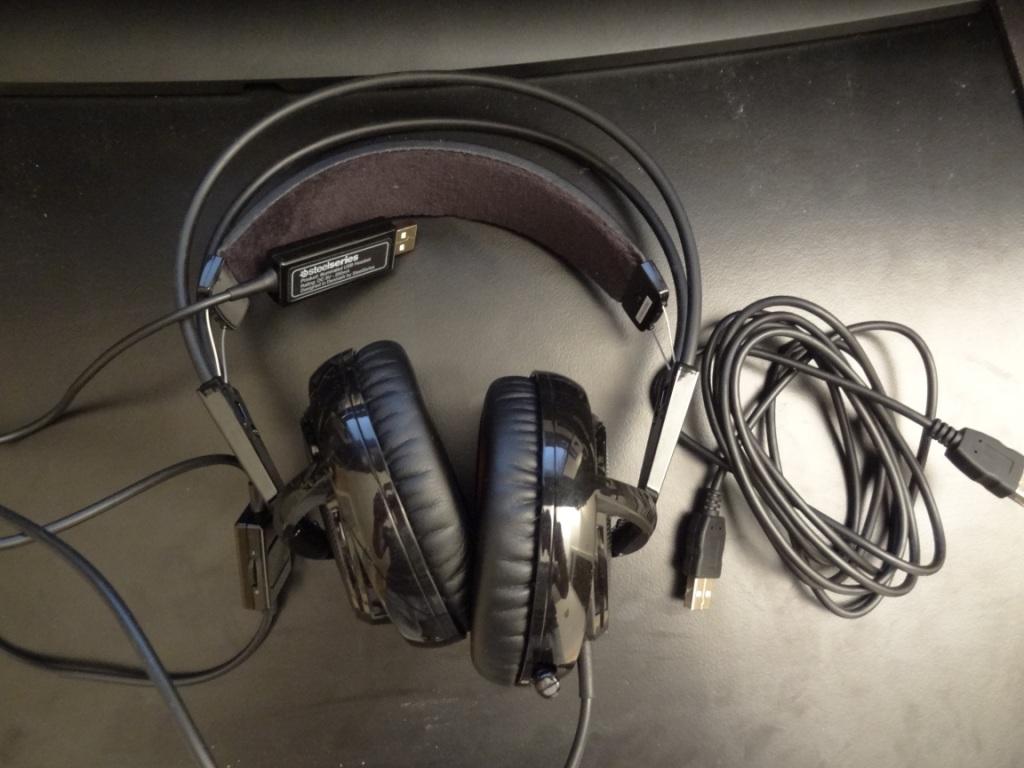SteelSeries Siberia V2 Heat Orange Headset - Included package