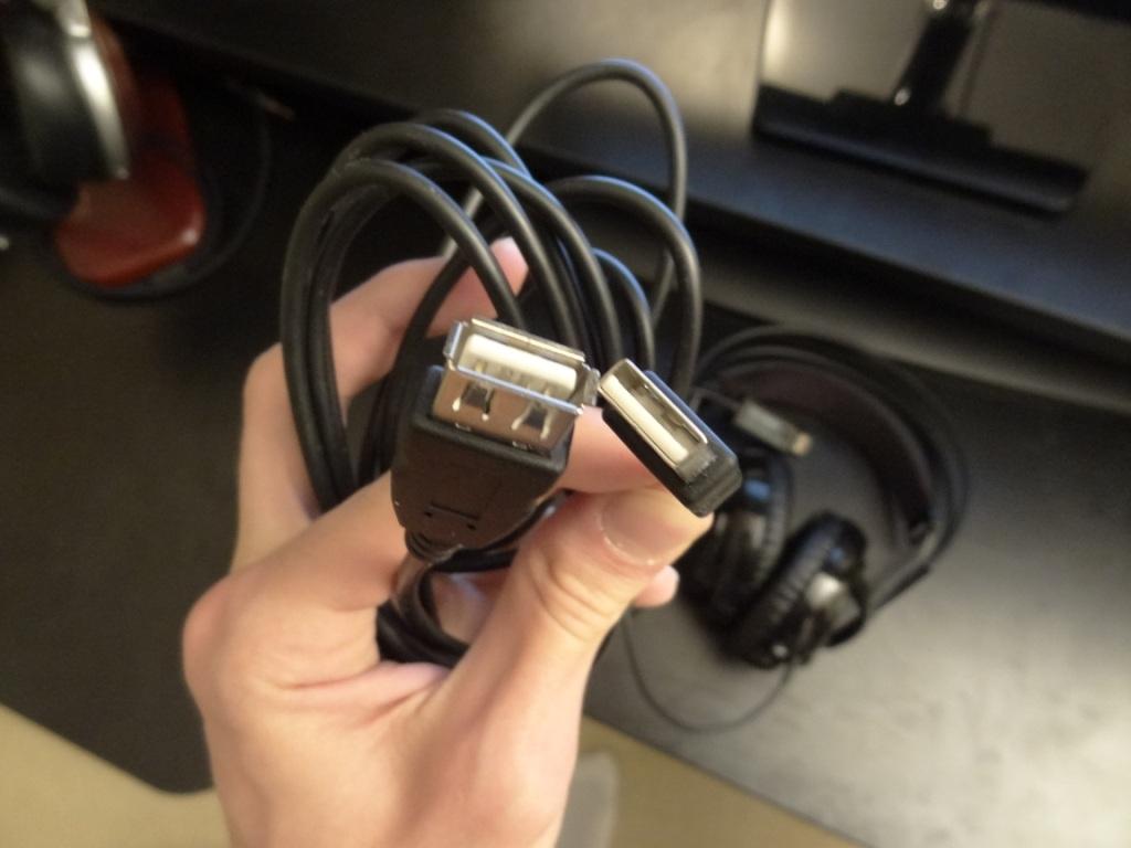SteelSeries Siberia V2 Heat Orange Headset - USB extension