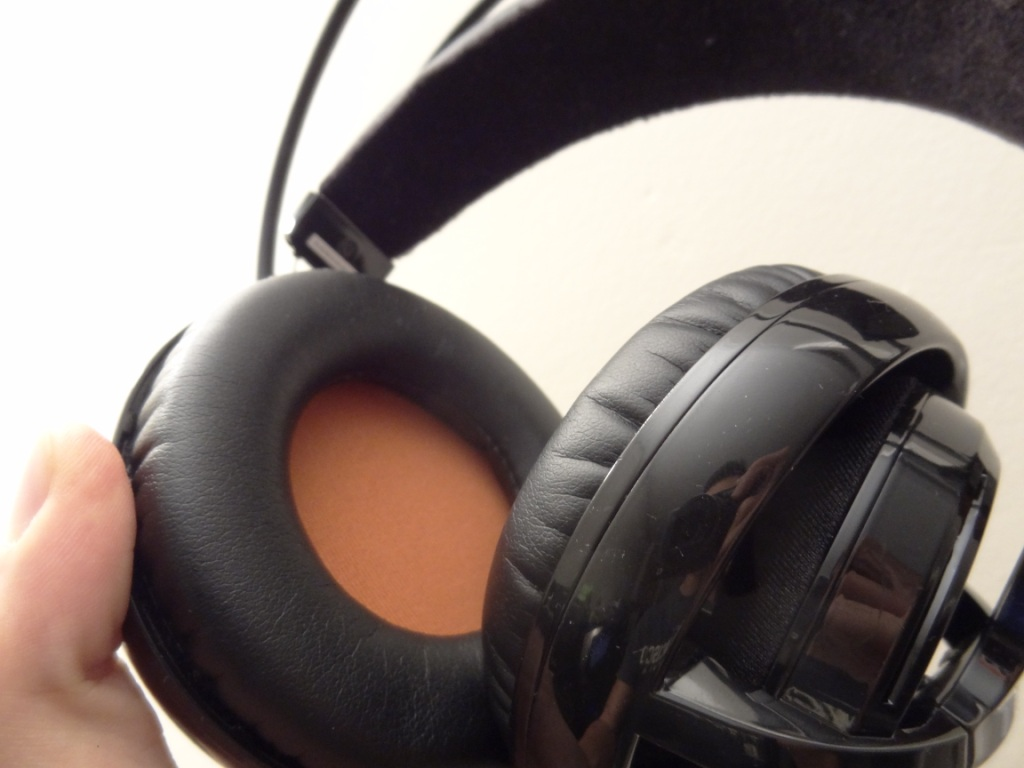 SteelSeries Siberia V2 Heat Orange Headset - Pads