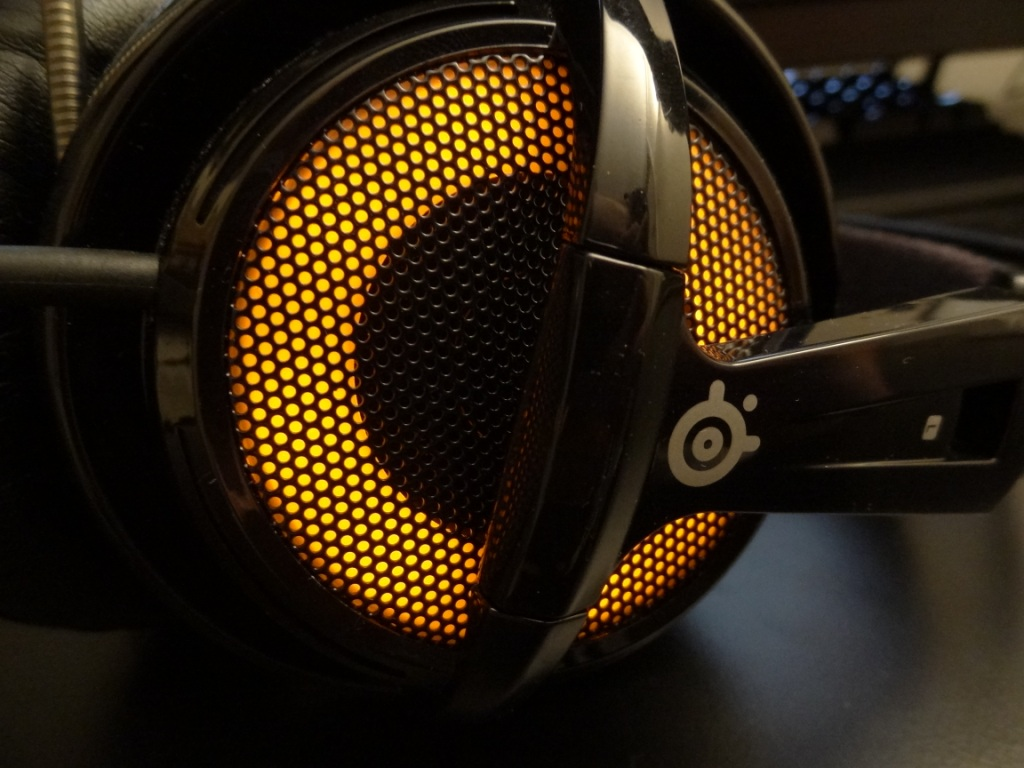 SteelSeries Siberia V2 Heat Orange Headset - Colour