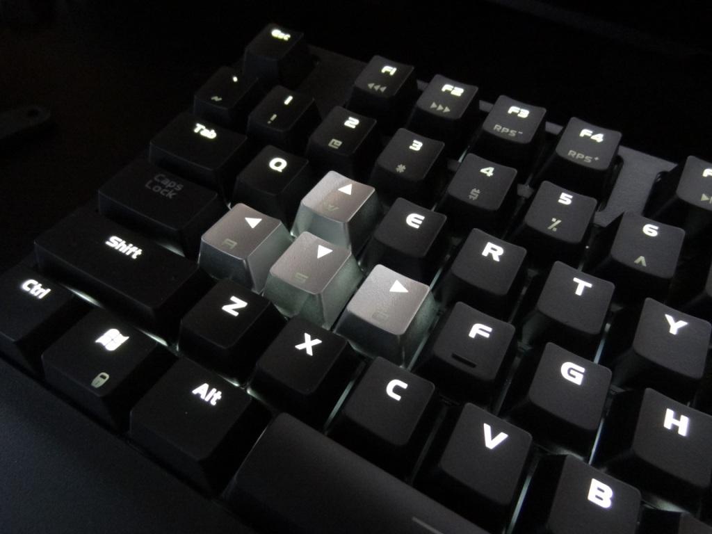 Perixx PX-5000 - Silver arrow keys