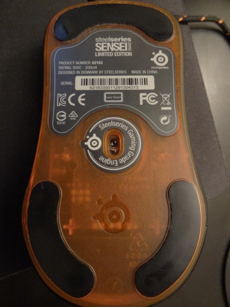 SteelSeries Sensei Mouse - Sensor