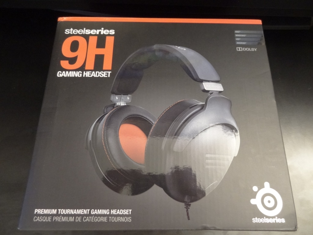 SteelSeries 9H Headset - Packaging