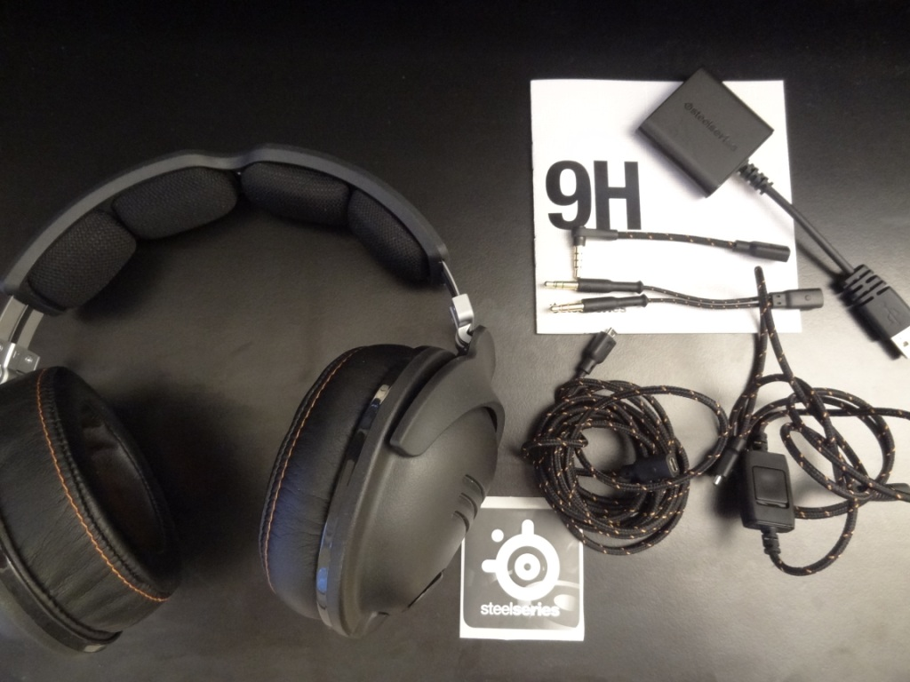SteelSeries 9H Headset - Contents