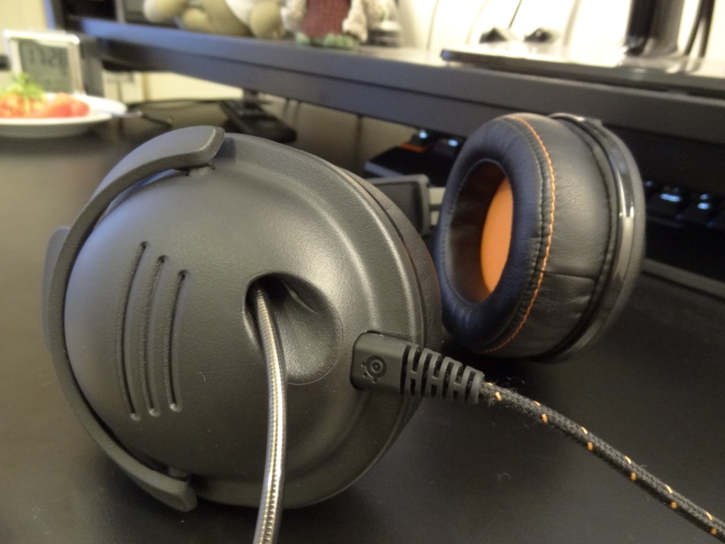 SteelSeries 9H Headset - Input and mic