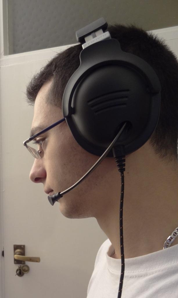 SteelSeries 9H Headset - Mic