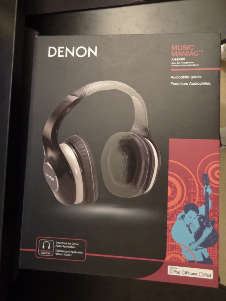 Denon AH-D600 - Packaging