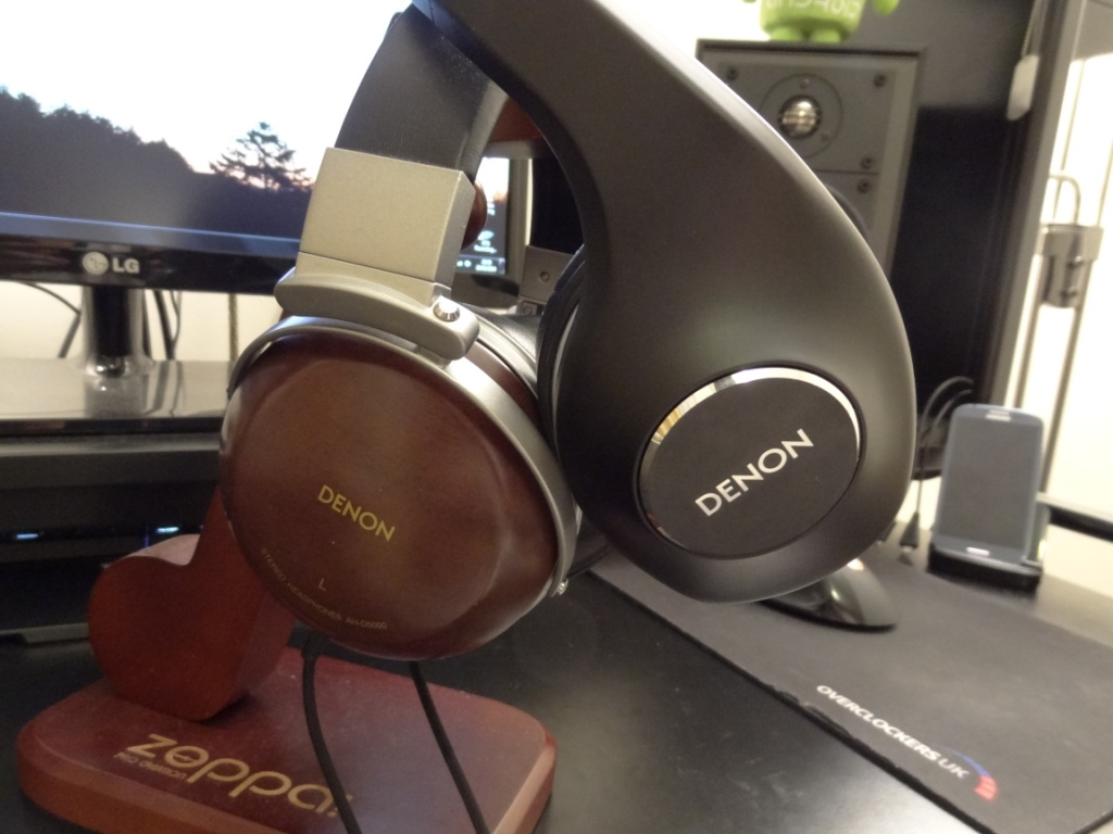 Denon AH-D600 - Side by side with D2K