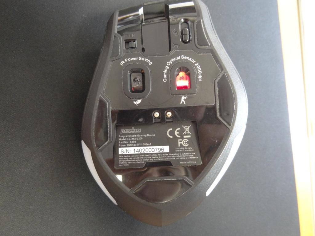 Perixx MX-2200 - Underneath