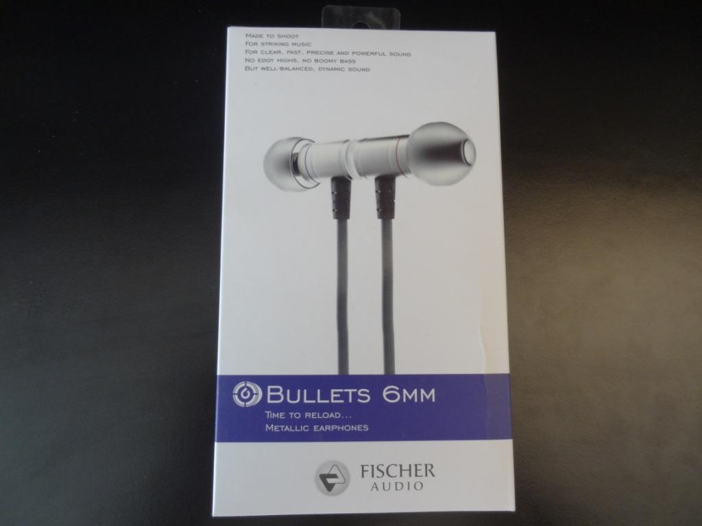 Fischer Audio 6mm Bullets - Packaging