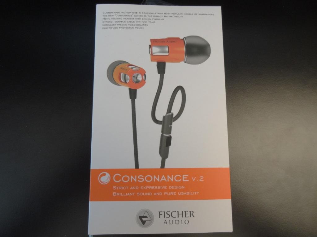 Fischer Audio Consonance V2 - Packaging