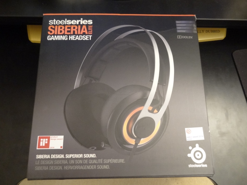 Steelseries Siberia Elite - Packaging