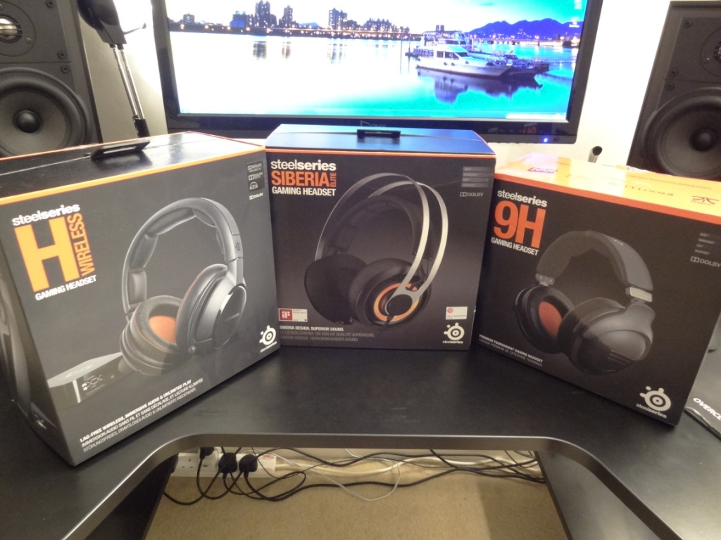 Steelseries Siberia Elite - Range