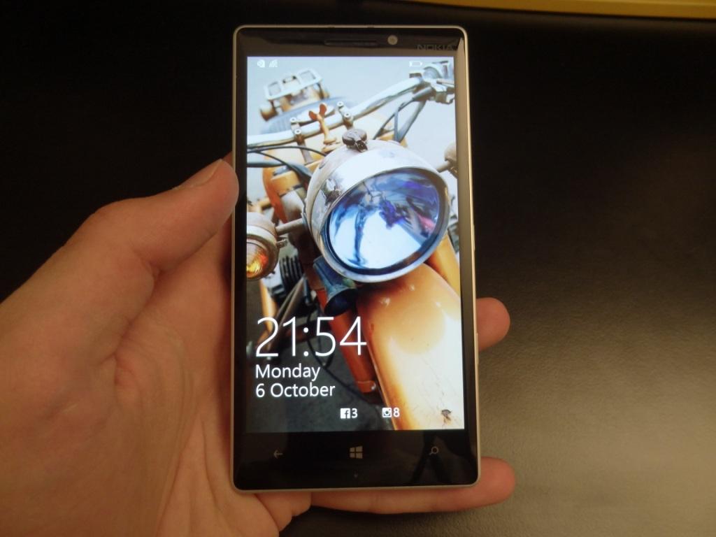 Lumia 930 - Lockscreen