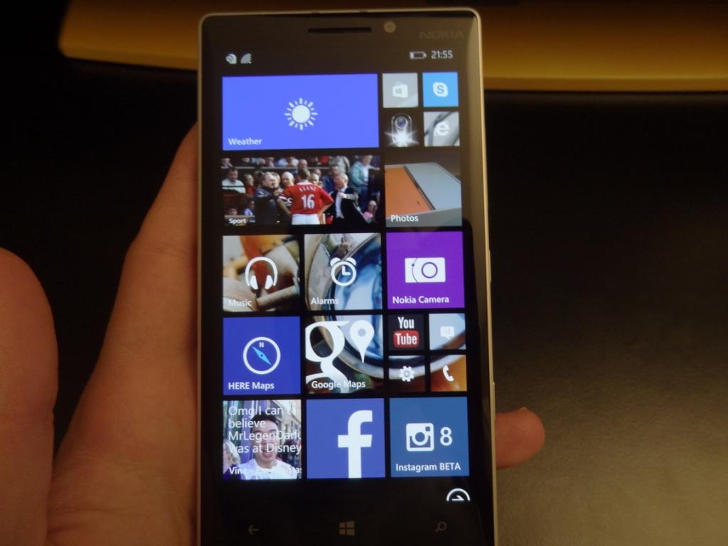 Lumia 930 - Homescreen