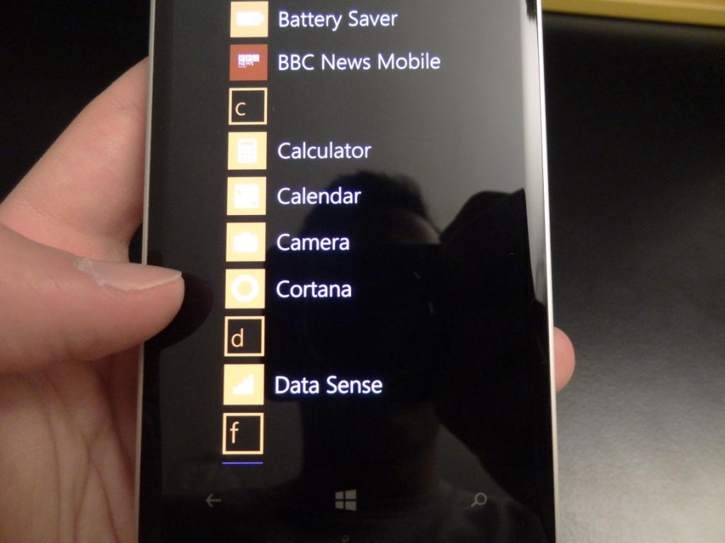 Lumia 930 - Apps