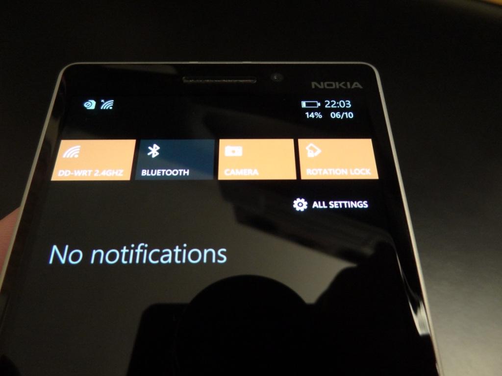 Lumia 930 - Notifications