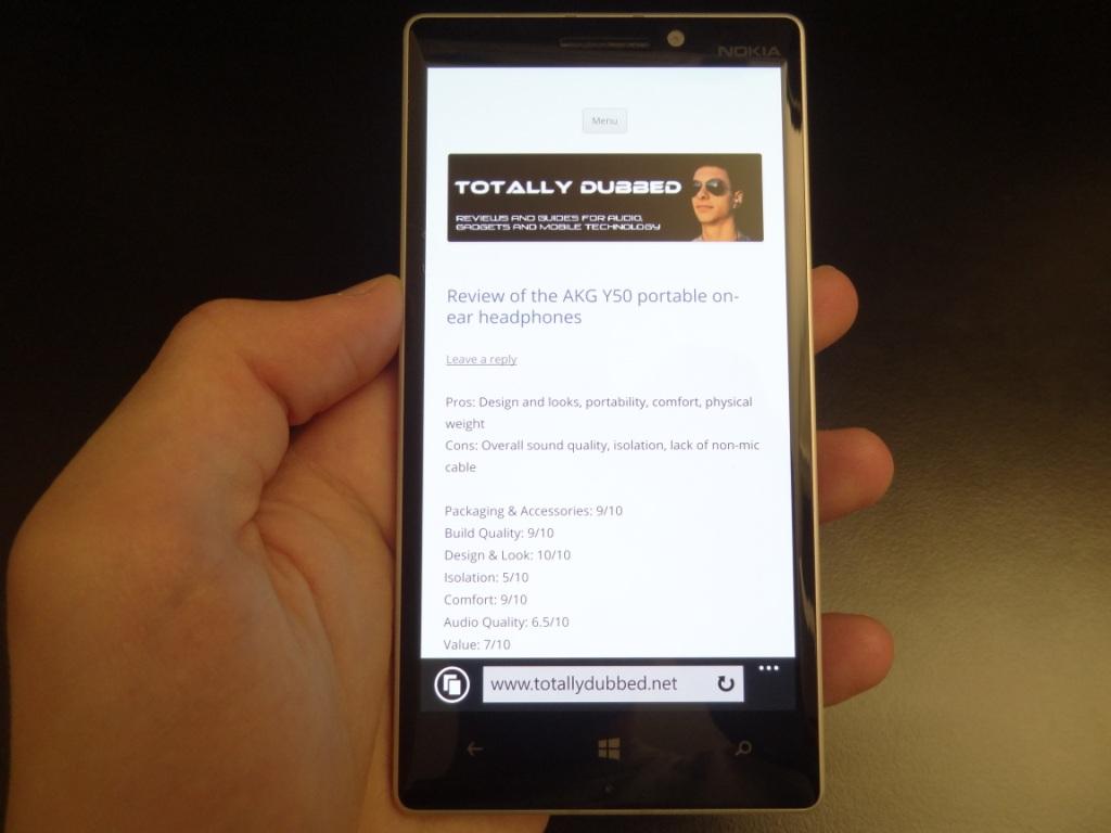 Lumia 930 - Resolution