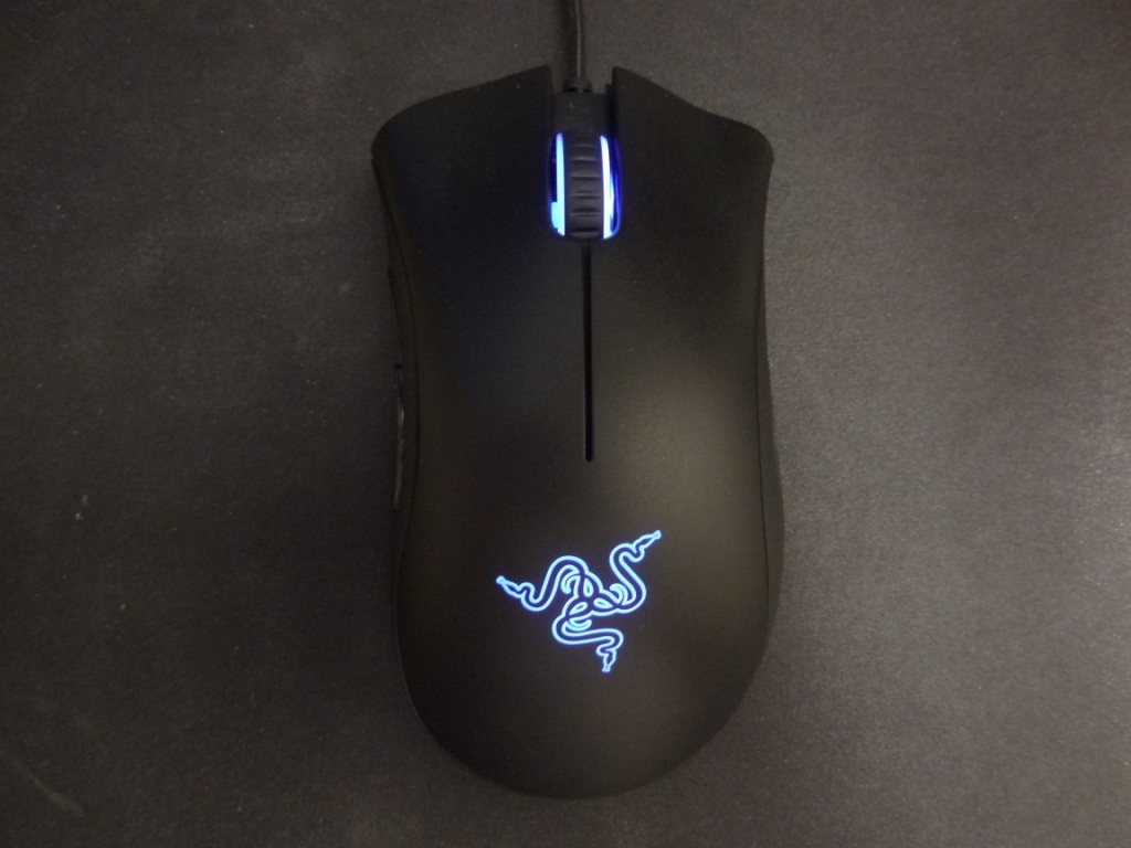 Razer DeathAdder Chroma - Top view