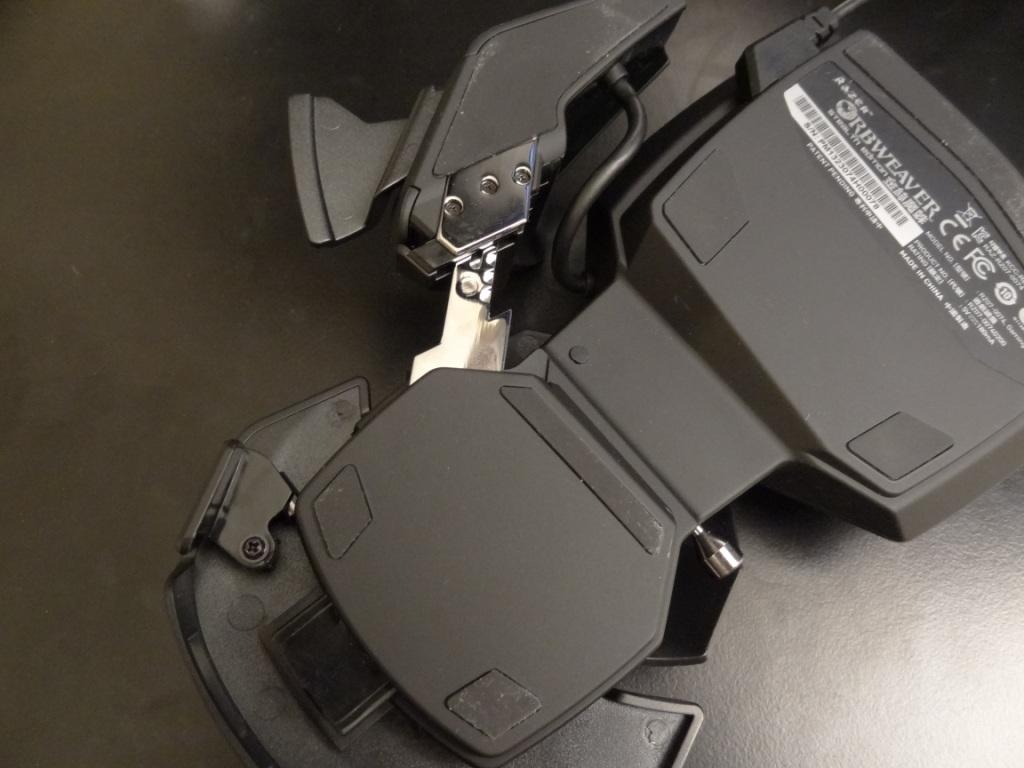 Razer Orbweaver Stealth - Design