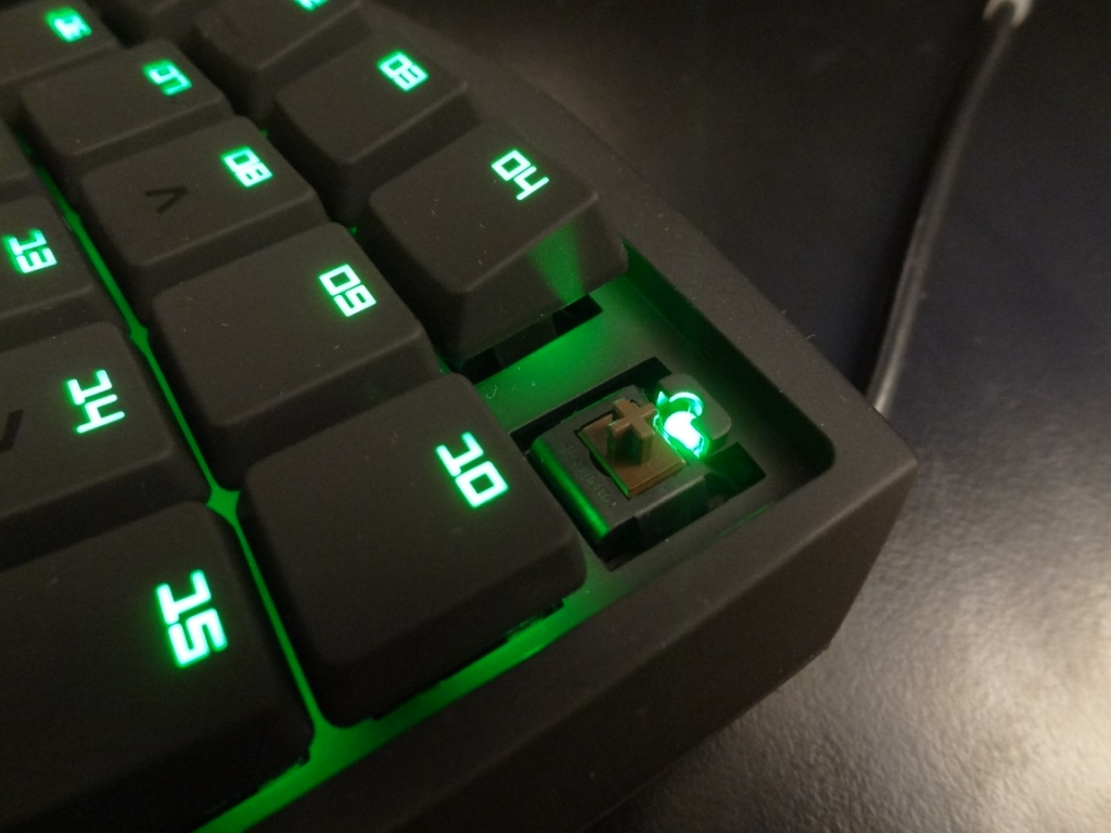 how to make razer green switches