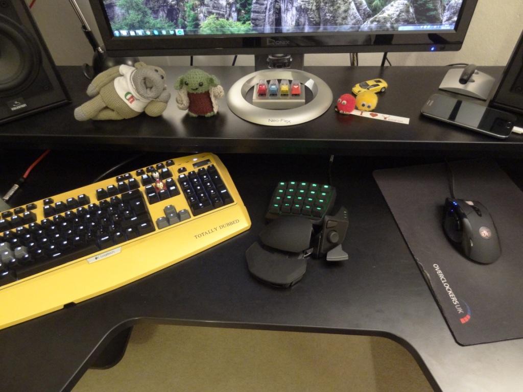Razer Orbweaver Stealth - Setup
