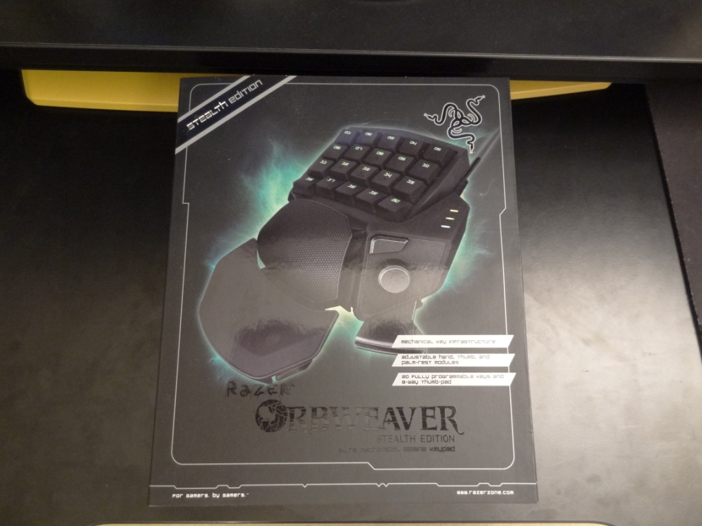 Razer Orbweaver Stealth - Box