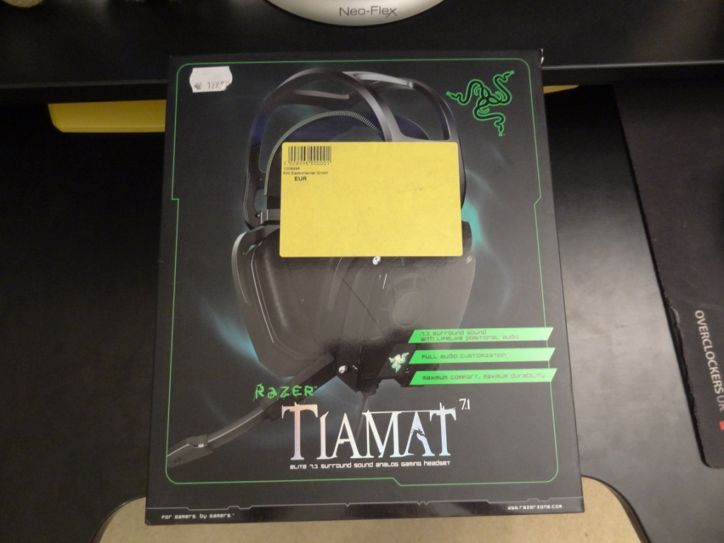 Razer Timat 7.1 - Packaging