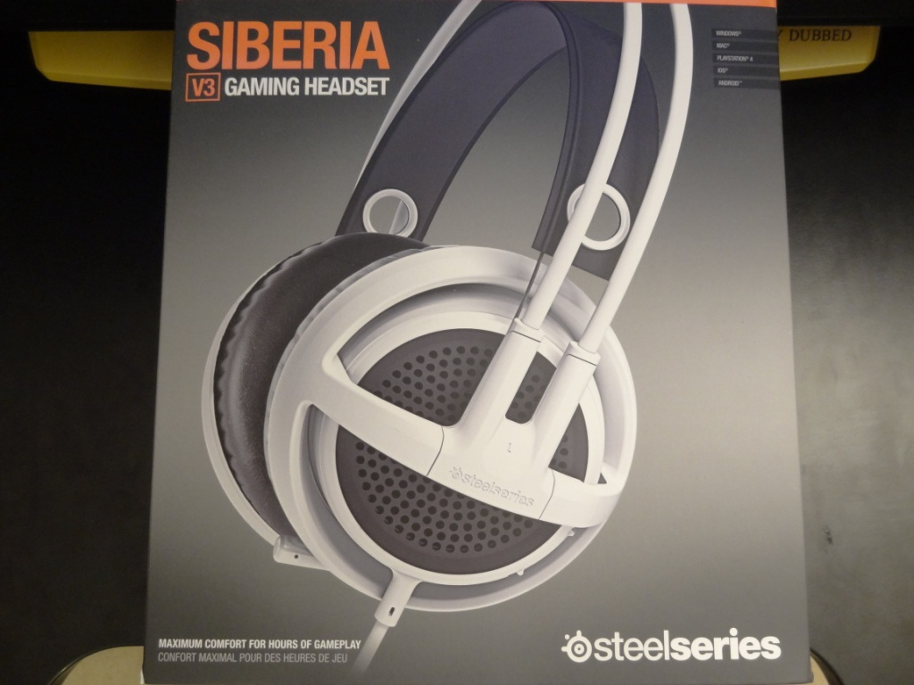 Steelseries Siberia V3 Headset - Box
