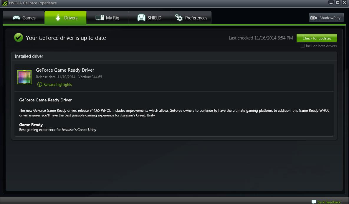 MSI GTX 970 Review - Nvidia Driver