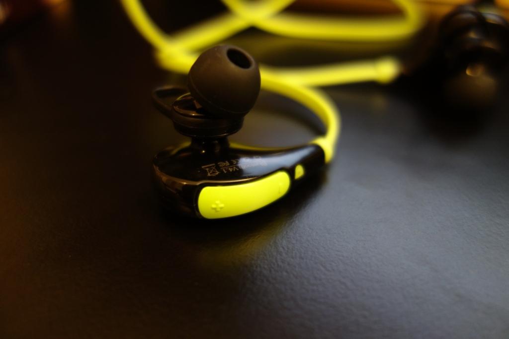Soundpeats QY7 - Volume control