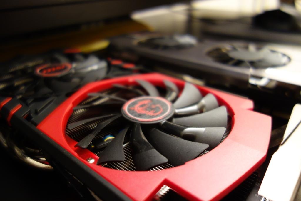 MSI GTX 960 - Fan comparison