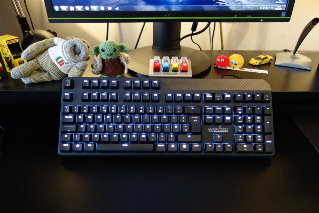 Perixx PX-5200 keyboard - Looks
