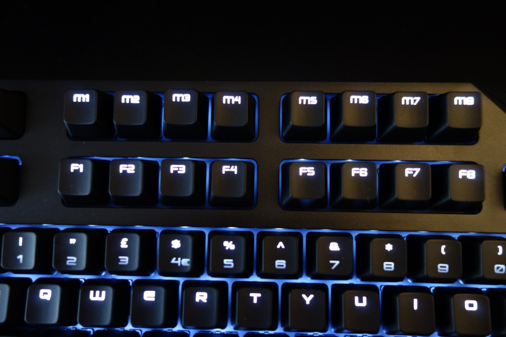 Perixx PX-5200 keyboard - Macro keys