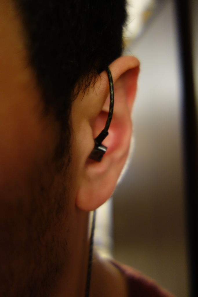 Sennheiser IE800 - In-ear over-the-ear front view