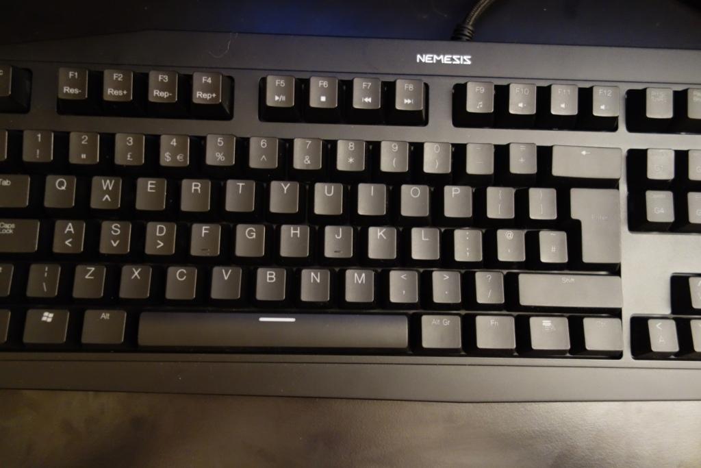 Sumvision Nemesis Ultra - Keyboard view